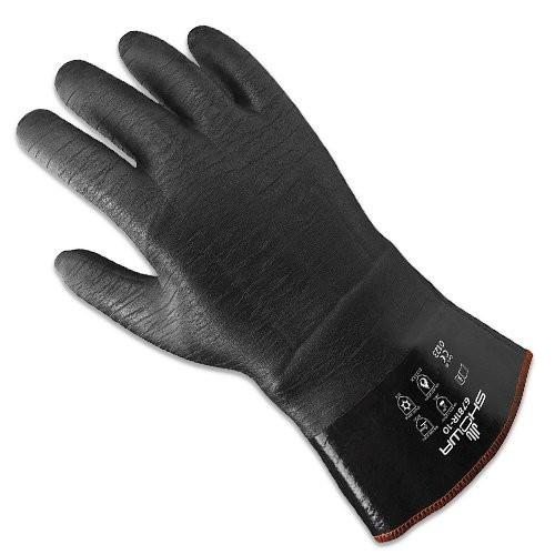 SHOWA 6781R glove back.
