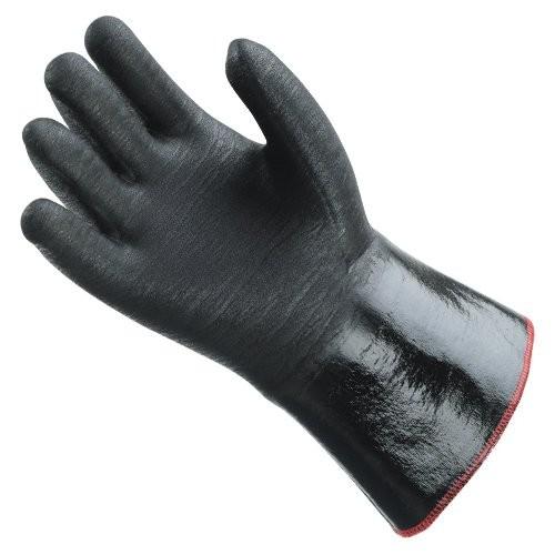 SHOWA 6781R glove palm.
