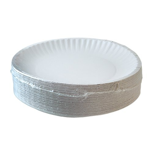 Plates wrapped in shrink film