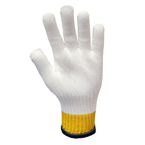 Whizard 3'' Cuff Defender® Cut-Resistant White Gloves
