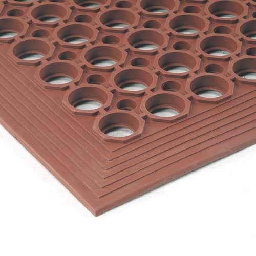 Grease-Resistant Terracotta Floor Mat