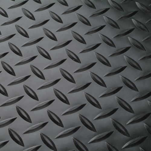 Textured surface provides slip-resistant footing.