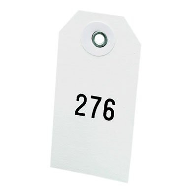 Numbered Water-Resistant Curing Tags
