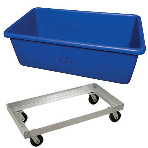Tubs Can Be Used As Stand Alone Items Or With Optional Steel Undercarriage.