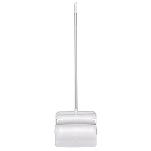 White, Lobby Dust Pan and Broom