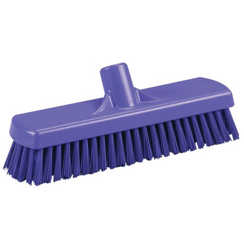 purple vikan deck scrub brush