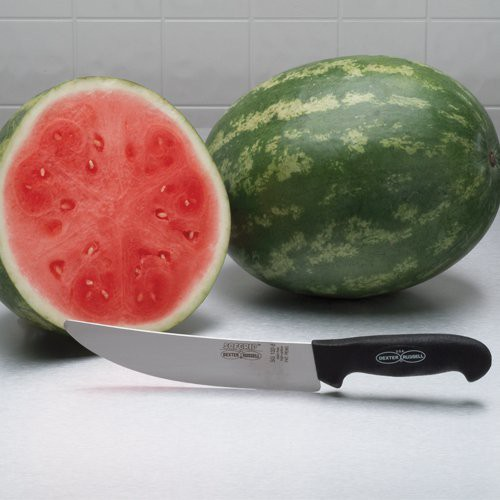"""The 8"""" Dexter Russell round point knife is the perfect melon knife!"""