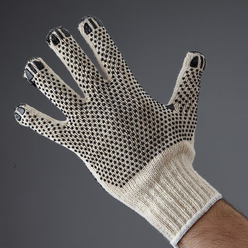 Double Dot glove is reversible, fits either hand