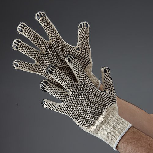 Double-Dot Gloves