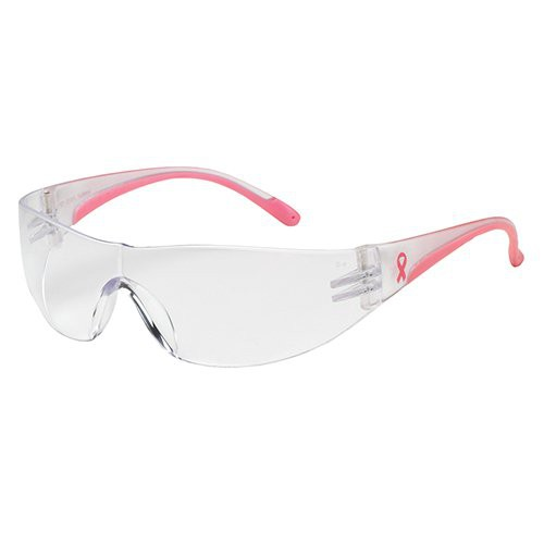 Pink/Clear temples.