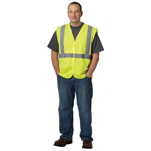 Yellow Solid Vest