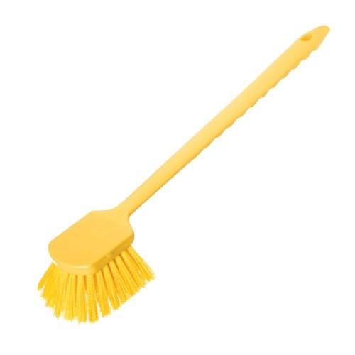 Yellow 20-Inch Sparta Utility Scrub Brush