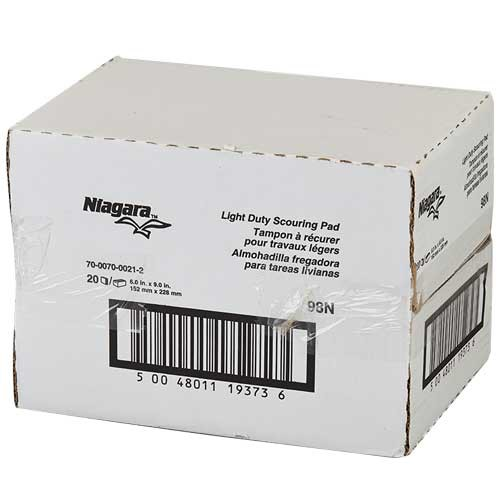 Niagara Scouring Pads are sold by the case.