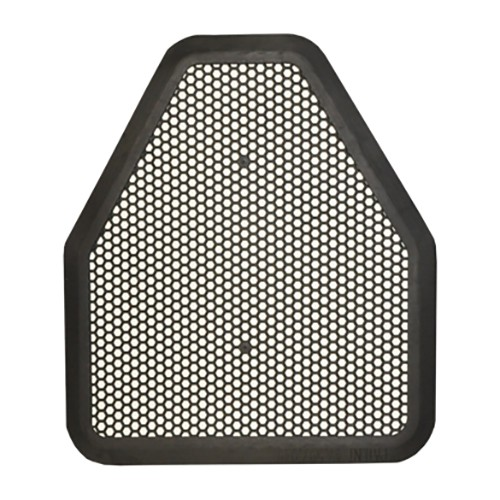 Disposable urinal floor mat is ideal for restrooms.