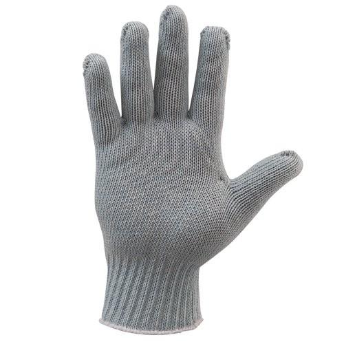 Gray Knit Eco-Gloves