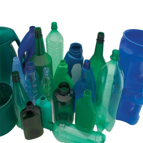 Made from recycled plastic bottles