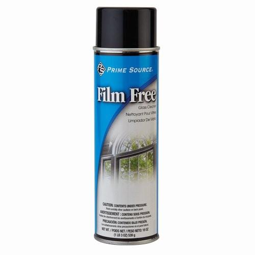 Film Free Aerosol Glass Cleaner - Aerosol, 19-oz