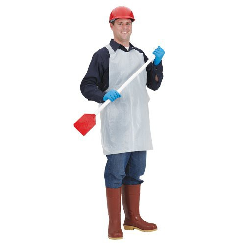1-Mil Smooth Light-Duty Poly Aprons