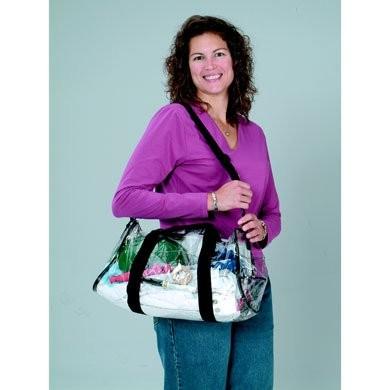 Prime Source Clear PVC Duffel Bag
