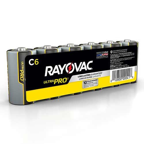 C-Size - Ultra Pro Alkaline Batteries