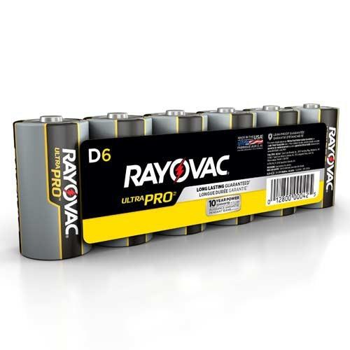 D-Size - Ultra Pro Alkaline Batteries
