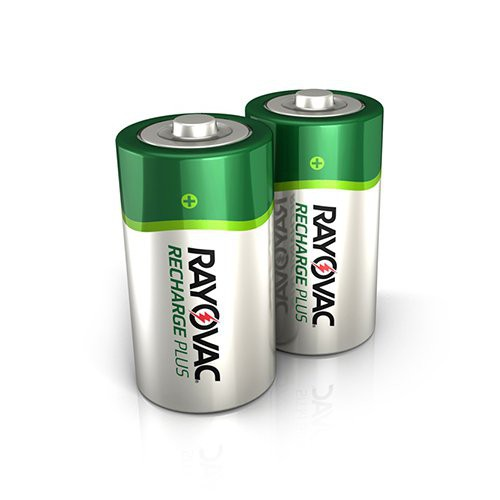 C Rayovac Recharge Plus Batteries