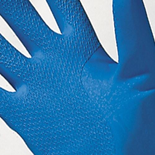 Diamond pattern grip. Blue/Green color.