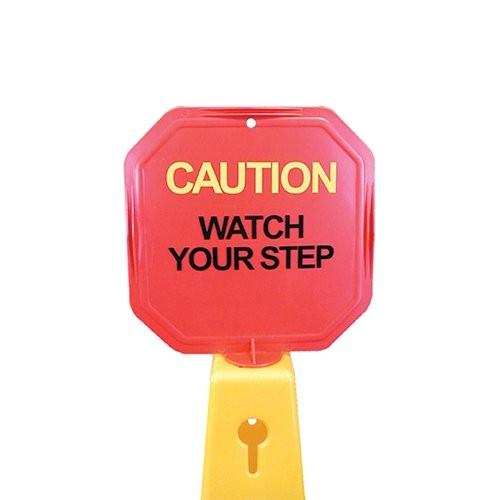 Octagon Warning Sign