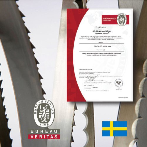 Stringent standards of production and quality control guided by ISA 14001