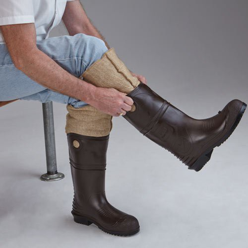 Wear one size larger boot when wearing these liners.