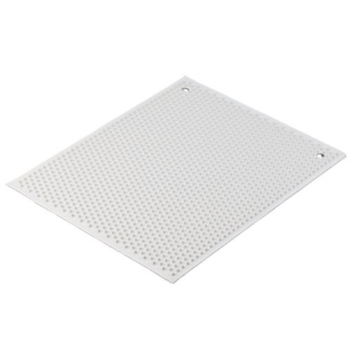 White Knobby Rubber Mat