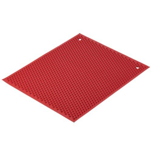 Red Knobby Rubber Mat
