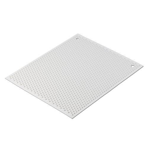 White Knobby Mat