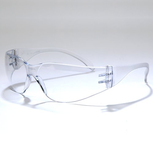 Clear, Standard Anti-Fog Safety Glasses