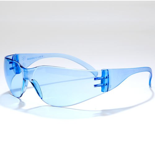 Blue, Standard Anti-Fog Safety Glasses