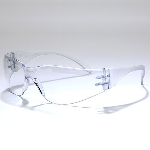 Clear, No Anti-Fog Safety Glasses
