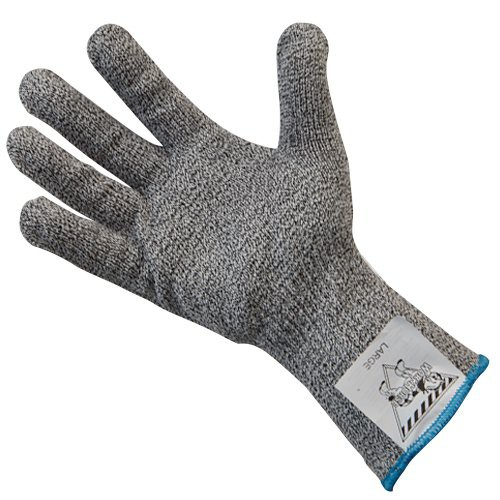 Gray, Extended Cuff Workhorse Cut-Resistant Glove.