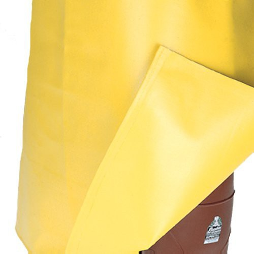 Sewn and sealed belly patch apron is double-coated on both sides.