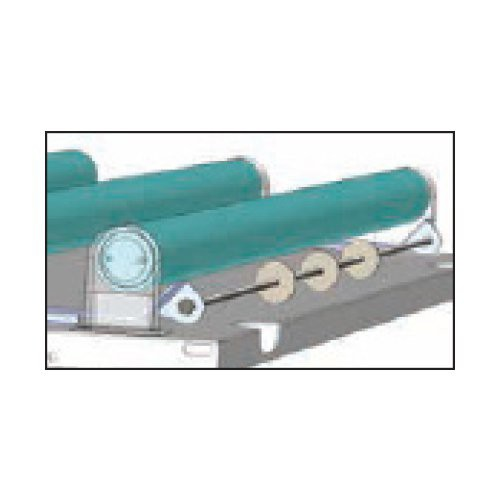Gardner insect traps feature patented glueboard roller guides for easy replacement.