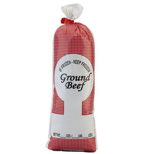 Ground Beef Meat Bags