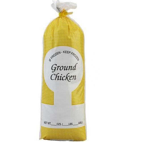 Ground Chicken Meat Bag