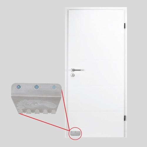 Prevent Cross-Contamination from Door Handles