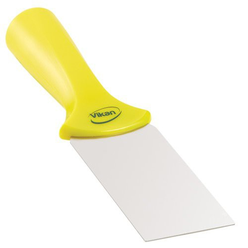 Yellow 2-Inch Stainless Steel Scraper