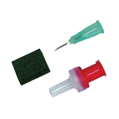 Replacement needles, filters and seals available