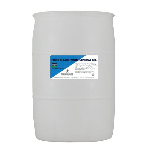 55-Gallon Drum of Food Grade Mineral Oil
