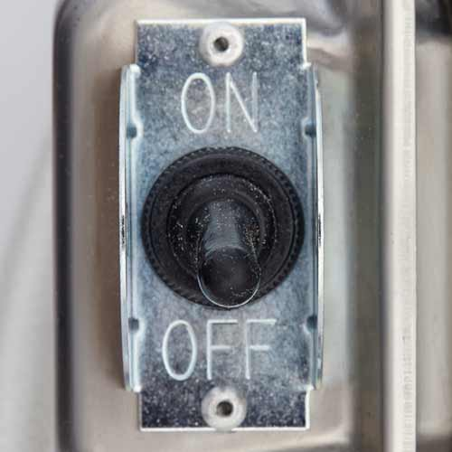 Convenient On/Off Switch