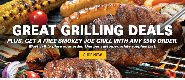 Great Grilling Deals and Smokey Joe