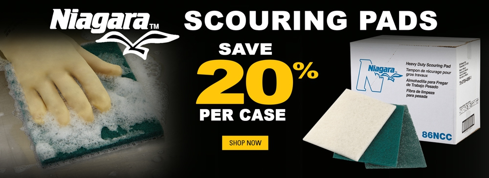 Save 20% on Scouring Pads