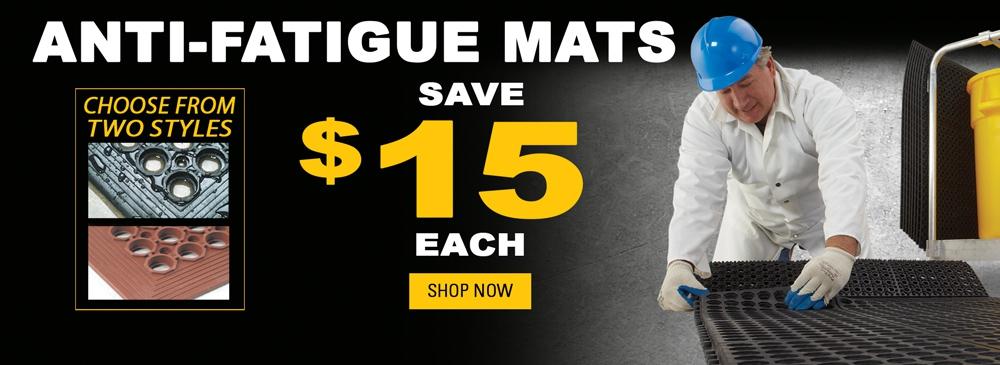 Anti-Fatigue Mats - Save $15 each