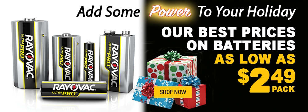 Best Prices on Batteries